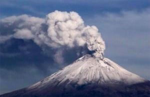 Cotopaxi em erupção